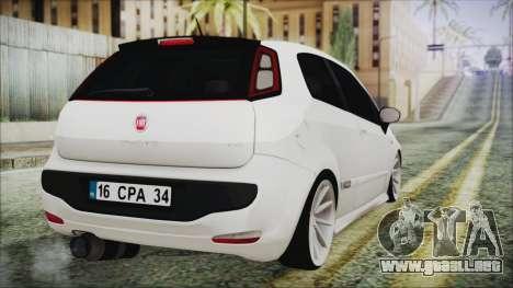 Fiat Punto para GTA San Andreas left