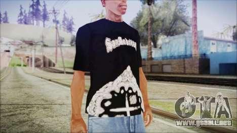 San Andreas T-Shirt para GTA San Andreas segunda pantalla