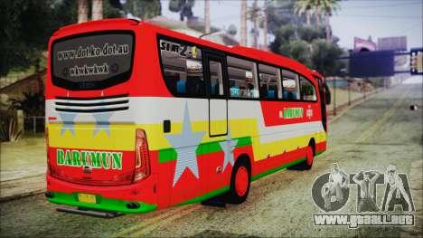 Bus Pt.BARUMUN Sibuhuan para GTA San Andreas left