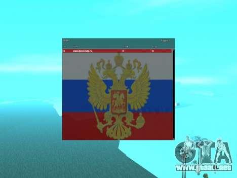 SampGui Bandera de Rusia con el escudo de armas para GTA San Andreas