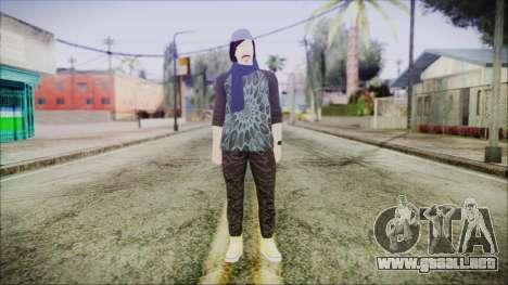GTA Online Skin 18 para GTA San Andreas segunda pantalla