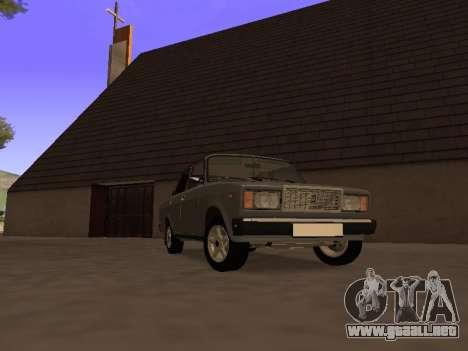 Principado VAZ 2107 San v0.3 para GTA San Andreas