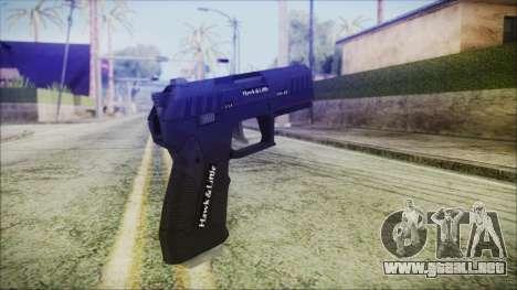 GTA 5 Combat Pistol v2 - Misterix 4 Weapons para GTA San Andreas segunda pantalla