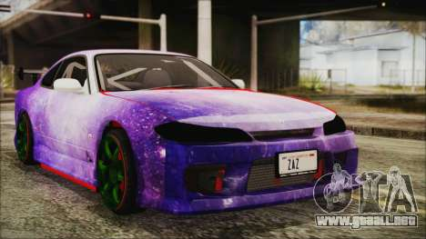 Nissan Silvia S15 Galaxy Drift v1.1 para GTA San Andreas