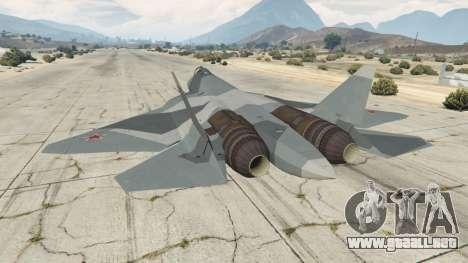 GTA 5 T-50 PAK FA v0.02 tercera captura de pantalla