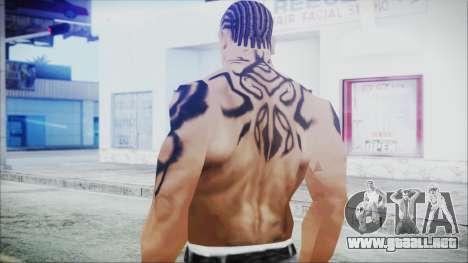 Blade Skin Pack para GTA San Andreas sexta pantalla