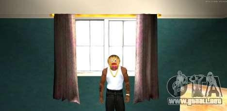 Máscara de Mal Prani v1 (Navidad de 2016) para GTA San Andreas segunda pantalla