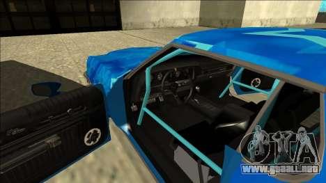Ford Gran Torino Drift Blue Star para visión interna GTA San Andreas