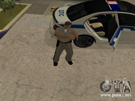 New Animations para GTA San Andreas tercera pantalla