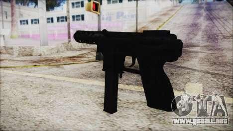 TEC-9 ACU para GTA San Andreas segunda pantalla