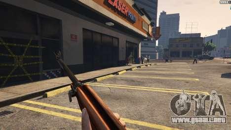 GTA 5 .30 Cal M1 Carbine Rifle noveno captura de pantalla