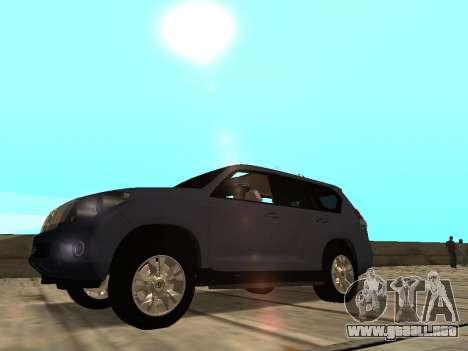 Toyota Land Cruiser Prado para GTA San Andreas left