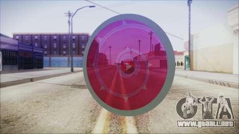 Steven Shield from Steven Universe para GTA San Andreas segunda pantalla