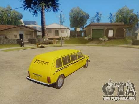 VAZ 2131 7-Puerta del Taxi para visión interna GTA San Andreas