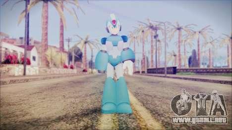 Marvel vs Capcom 3 Megaman para GTA San Andreas segunda pantalla