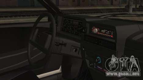 2109 Escorrentía para la visión correcta GTA San Andreas