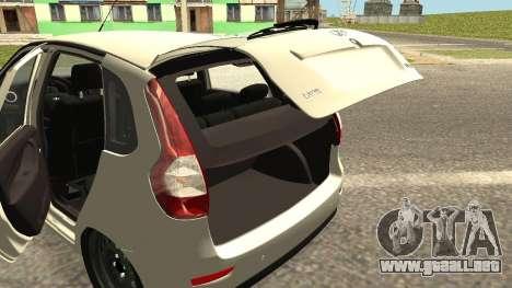 Lada Kalina 2 - Granta para visión interna GTA San Andreas