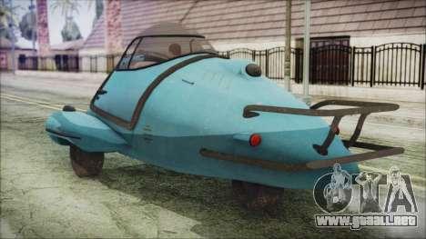 Fallout 4 Fusion Flea para GTA San Andreas left