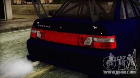 VAZ 2110 Deporte para visión interna GTA San Andreas