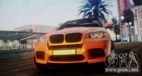 BMW X5M SMOTRA.GT para GTA San Andreas vista posterior izquierda