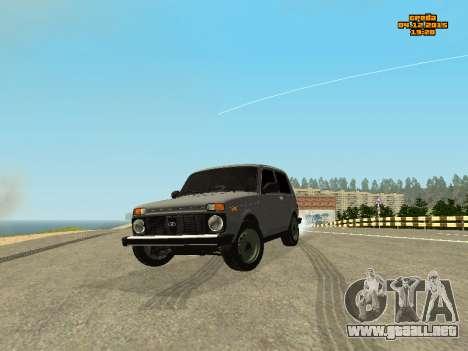 VAZ 2123 Niva automática de Sonido para GTA San Andreas
