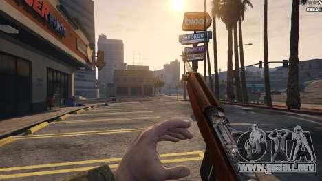 GTA 5 .30 Cal M1 Carbine Rifle quinta captura de pantalla