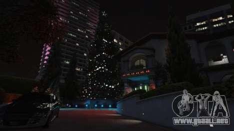 GTA 5 Adornos de navidad para la casa de Michael