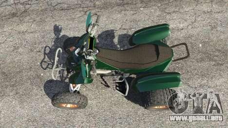 GTA 5 PURE Quad vista trasera