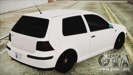Volkswagen Golf 4 Romanian Edition para GTA San Andreas left