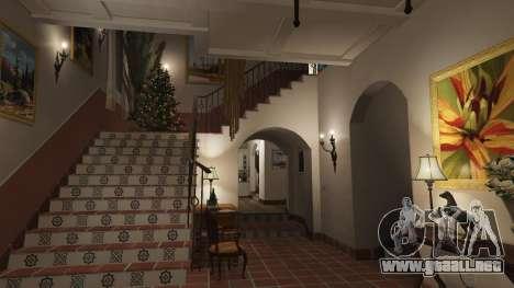 Adornos de navidad para la casa de Michael para GTA 5