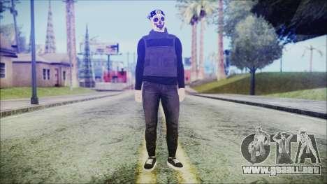 GTA Online Skin 59 para GTA San Andreas segunda pantalla