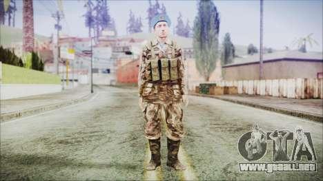World In Conflict Malashenko para GTA San Andreas segunda pantalla