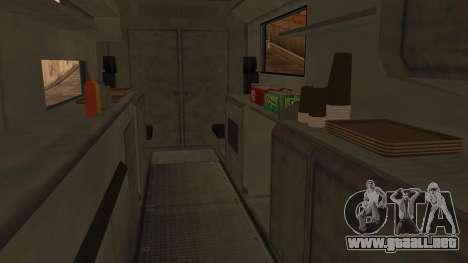 Sate Ayam (Chicken Satay) Van para la visión correcta GTA San Andreas