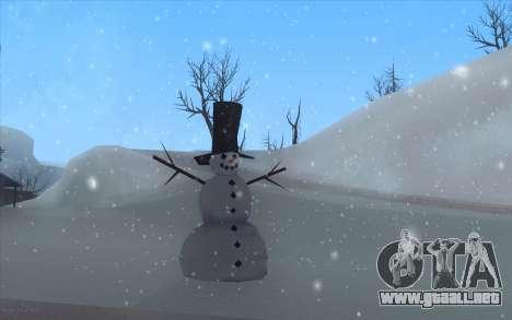 Winter Vacation 2.0 SA-MP Edition para GTA San Andreas segunda pantalla