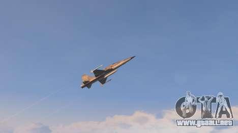 GTA 5 Northrop F-5E Tiger II USA noveno captura de pantalla