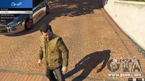 GTA 5 Multiplayer Co-op 0.6 segunda captura de pantalla