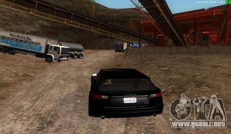 No hay mejor manera para GTA San Andreas sucesivamente de pantalla