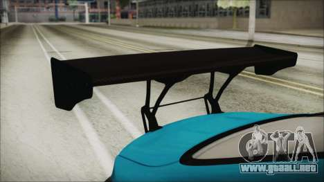 BMW M4 2014 Liberty Walk para GTA San Andreas vista hacia atrás
