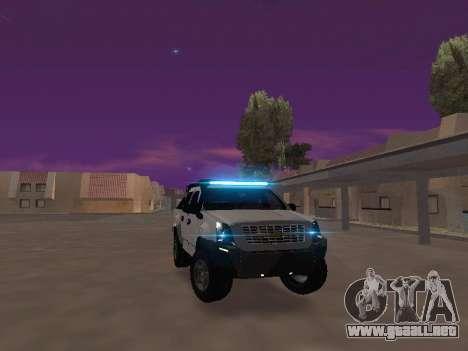 Chevrolet LUV D-MAX 2014 OffRoad (IVF) para la visión correcta GTA San Andreas