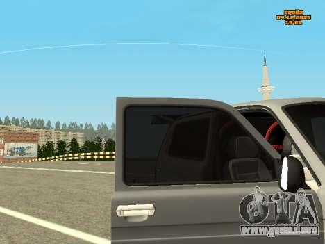 VAZ 2123 Niva automática de Sonido para la visión correcta GTA San Andreas