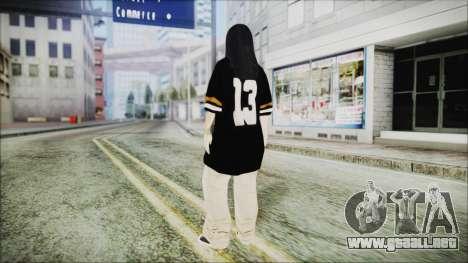 Una Chola para GTA San Andreas tercera pantalla