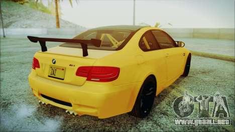 BMW M3 GTS 2011 IVF para GTA San Andreas left