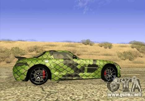 Mercedes-Benz SLS AMG Snake para GTA San Andreas left