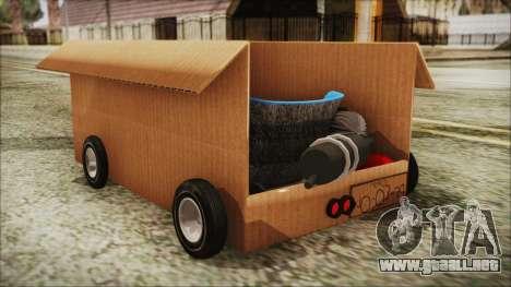 Kart-Box para GTA San Andreas left