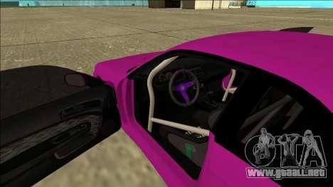 Nissan Silvia S14 Drift para la vista superior GTA San Andreas