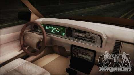 Toyota Crown Royal Saloon 1994 para la visión correcta GTA San Andreas