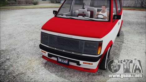GTA 5 Declasse Moonbeam Bobble Version IVF para la visión correcta GTA San Andreas