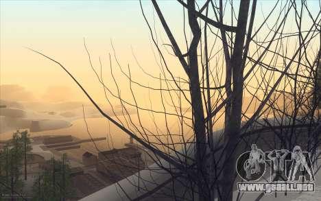 Winter Vacation 2.0 SA-MP Edition para GTA San Andreas quinta pantalla
