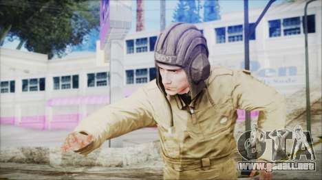 World In Conflict Tank Crewman para GTA San Andreas