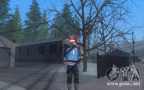 Winter Vacation 2.0 SA-MP Edition para GTA San Andreas sucesivamente de pantalla